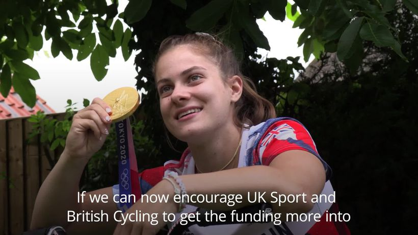 Shriever: My gold medal is a perfect opportunity for other BMX riders