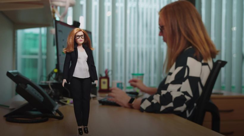 Creator of Oxford vaccine made into Barbie doll