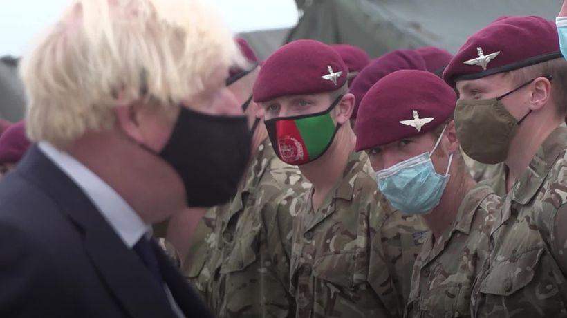 Boris Johnson accused of taking 'casual' approach to national security