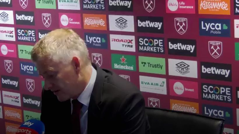 """Solskjaer expected to """"come home with one point"""" before Mark Noble's penalty miss"""