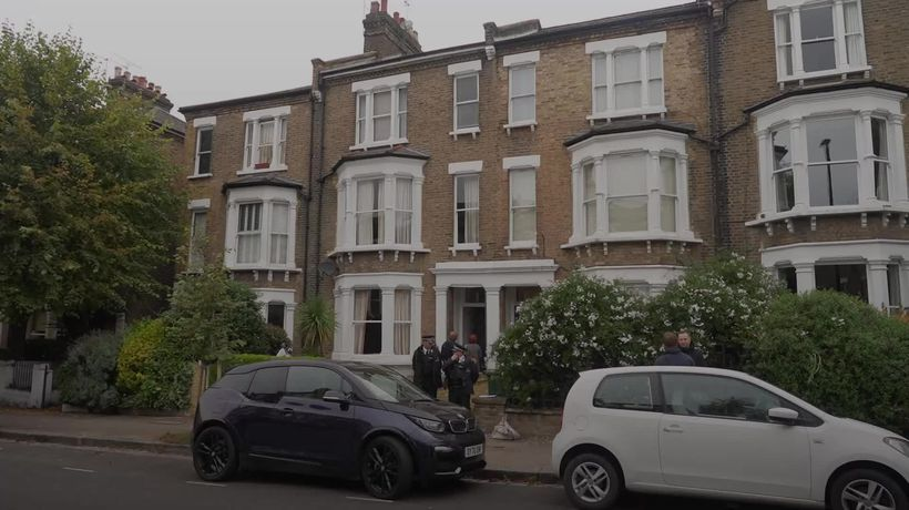 Police seen entering London flat believed to be related to MP stabbing