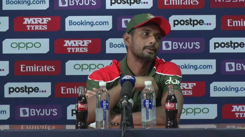 Scotland celebrations disrupt Bangladesh press conference after T20 World Cup win
