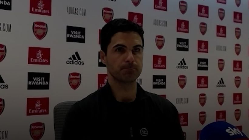 Mikel Arteta unhappy with lack of VAR intervention in McArthur's tackle that saw Saka benched
