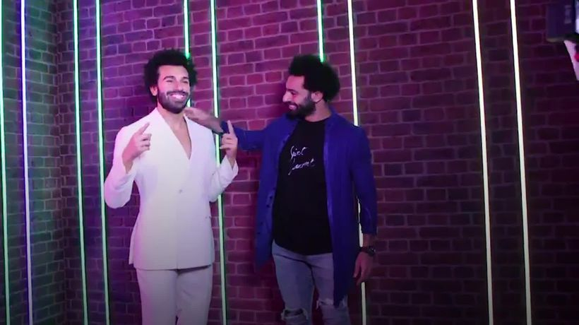 Mo meets Mo: Salah comes face-to-face with new Madame Tussauds waxwork