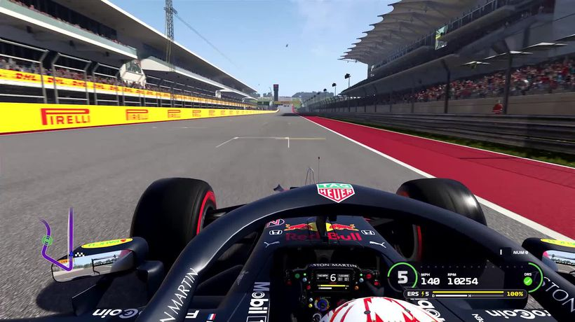 F1 preview: A lap at the United States Grand Prix