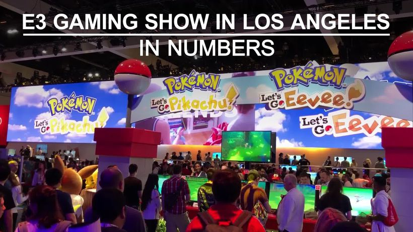 E3 gaming show in numbers