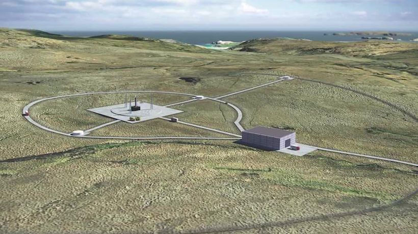 Scottish peninsula chosen for site of UK's first spaceport