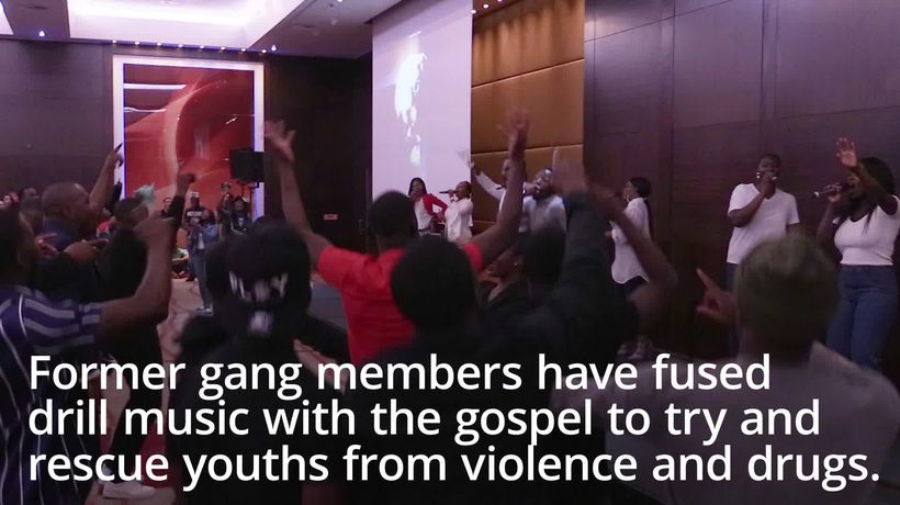 Former gang members fuse drill music with gospel