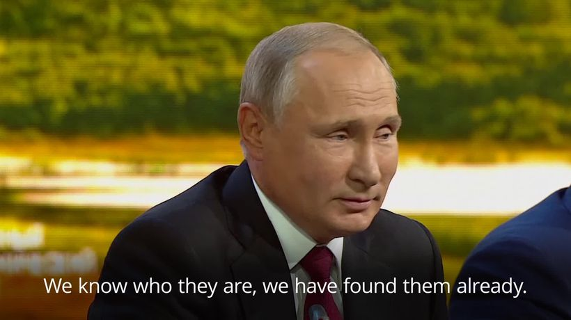 Putin: Nothing criminal about men named as Salisbury attack suspects