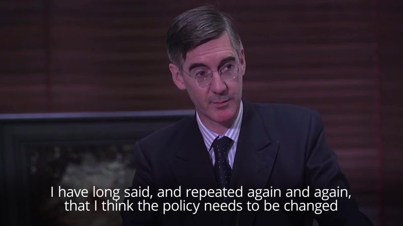 Rees-Mogg and Davis deny plotting to overthrow Prime Minister