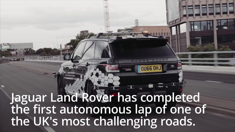 'Driverless' Range Rover completes first tour of Coventry roads