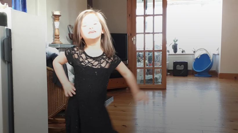Down's Syndrome model steals the show at London Kids' Fashion Week