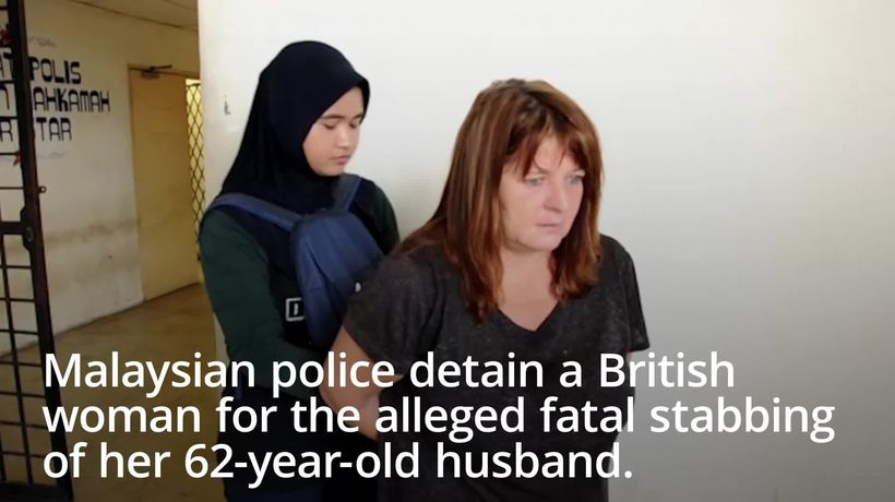 British woman arrested in Malaysia over husband's 'stabbing' death