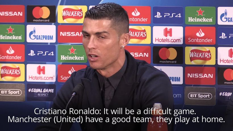 Ronaldo: Playing against Manchester United is hugely emotional for me