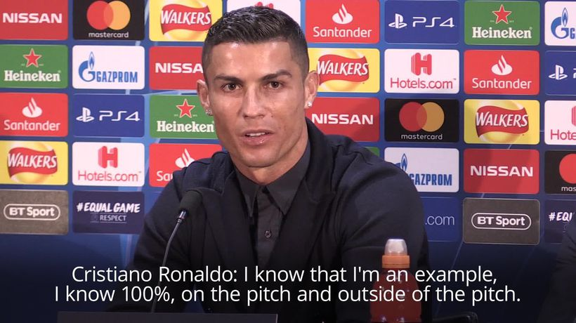 Ronaldo relaxed and full of smiles ahead of Old Trafford clash