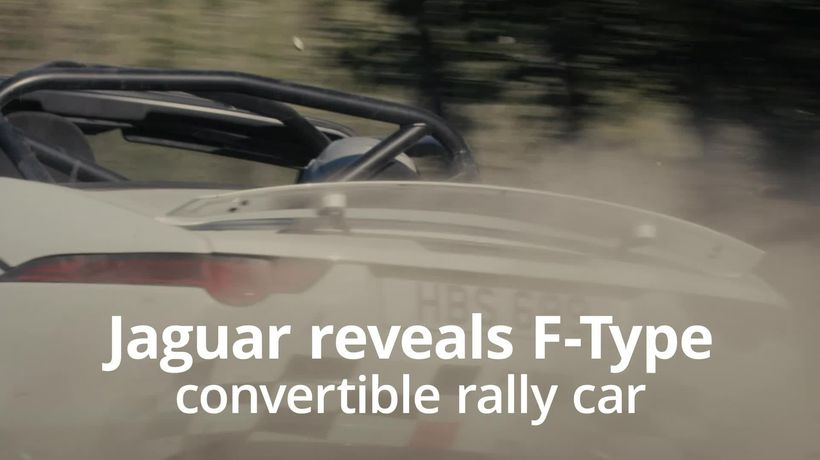 Jaguar creates rally-spec F-Type to celebrate 70 years of sports car heritage