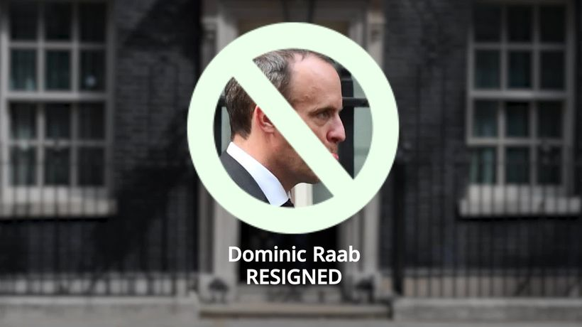 Dominic Raab resigns: Cabinet departures since 2017 general election