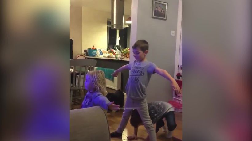 Kids copy Joe Snugg's Strictly Come Dancing routine from musicals week
