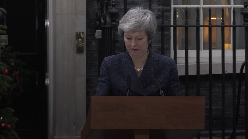 Theresa May won't lead Conservatives at the next general election