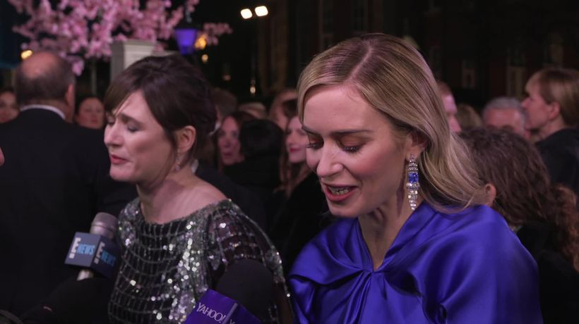 Emily Blunt: Julie Andrews wanted Mary Poppins sequel to be 'my show'