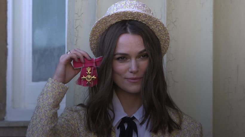 Keira Knightley receives an OBE