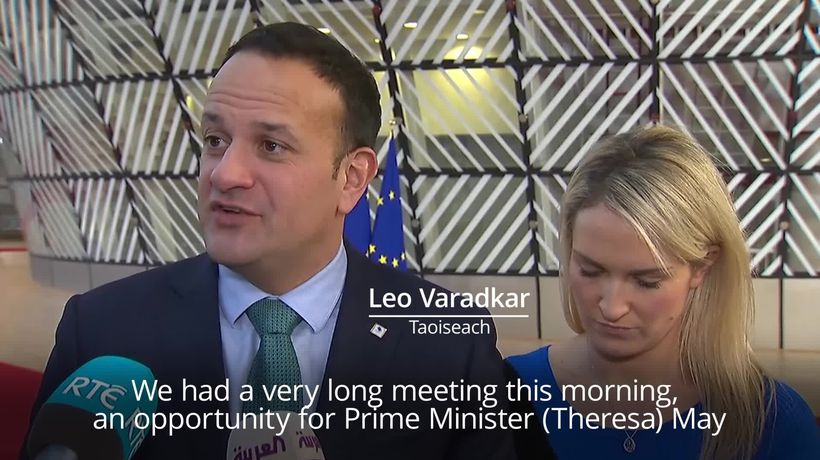 Taoiseach: Irish border backstop not up for re-negotiation