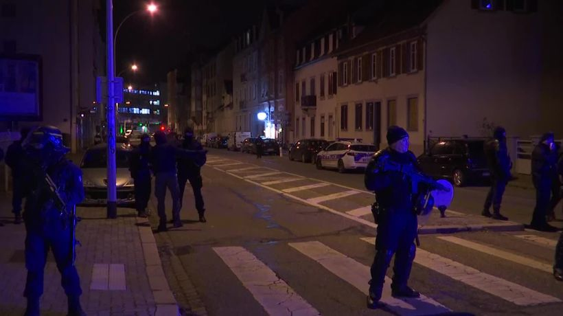 French police hunting Strasbourg attacker kill man in shootout