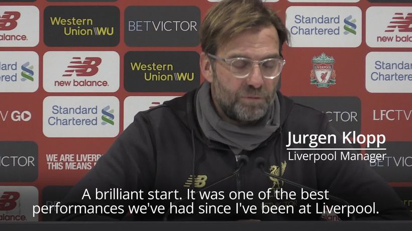 Liverpool v Man United: Both managers content with strong performances