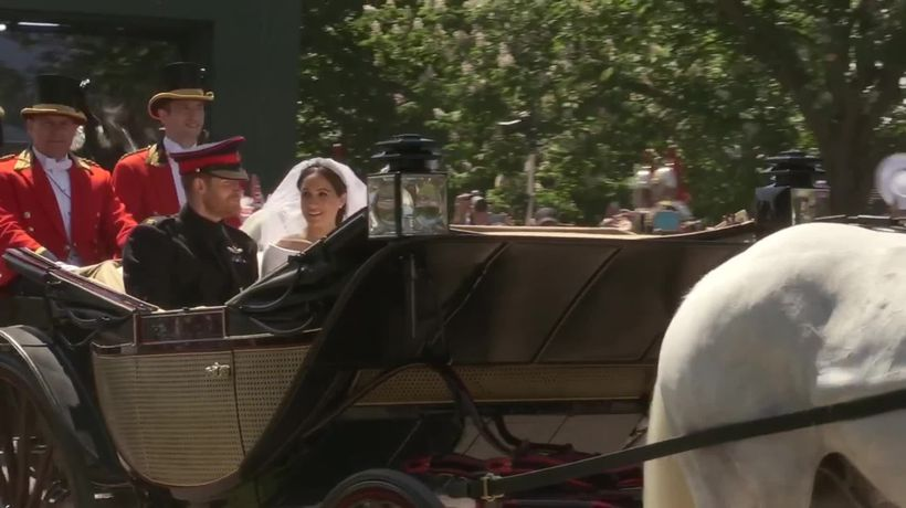 Harry and Meghan in 2018
