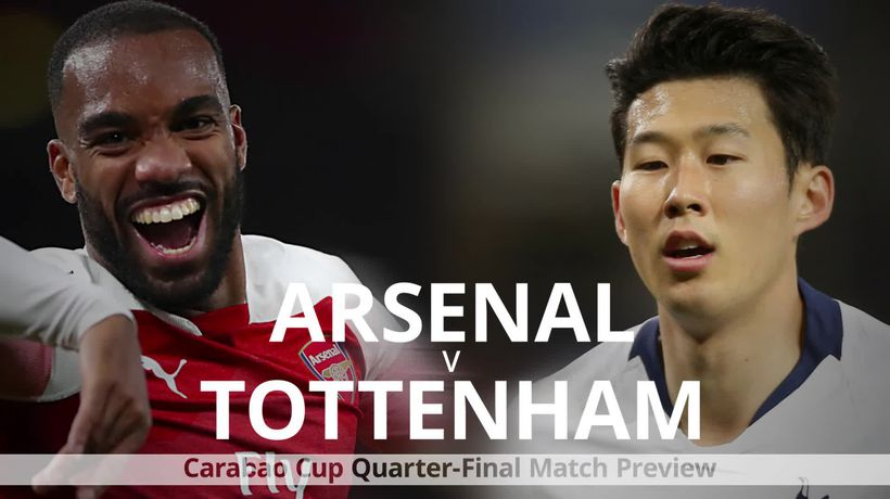 Carabao Cup quarter-final preview: Arsenal v Tottenham