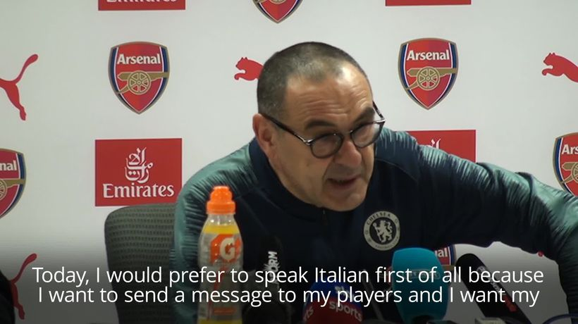Maurizio Sarri says his palyers are 'difficult to motivate'