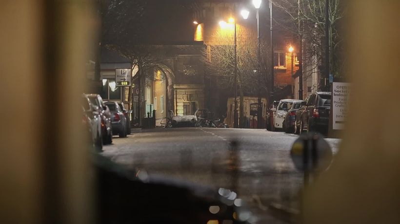 Residents evacuated after a suspected car bomb exploded in Londonderry