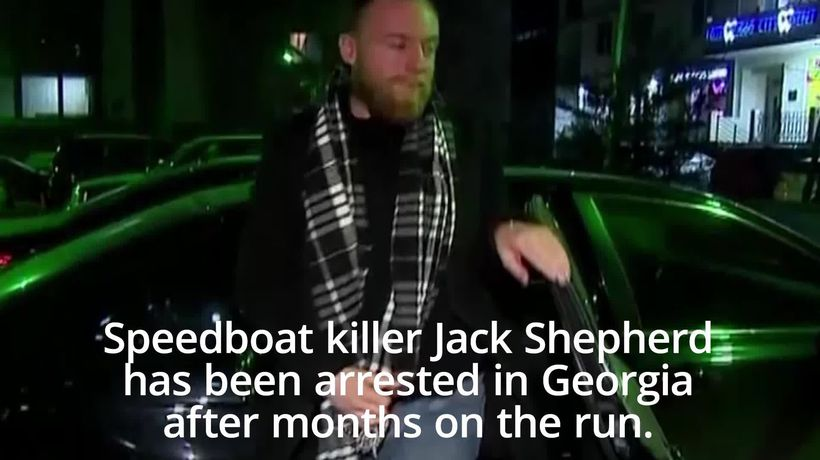 On-the-run speedboat killer Jack Shepherd hands himself in