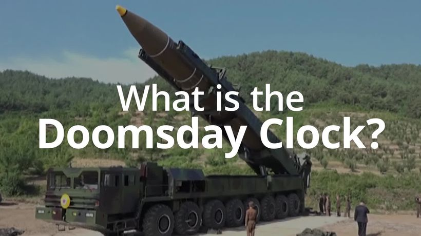 The Doomsday Clock explained in 60 seconds