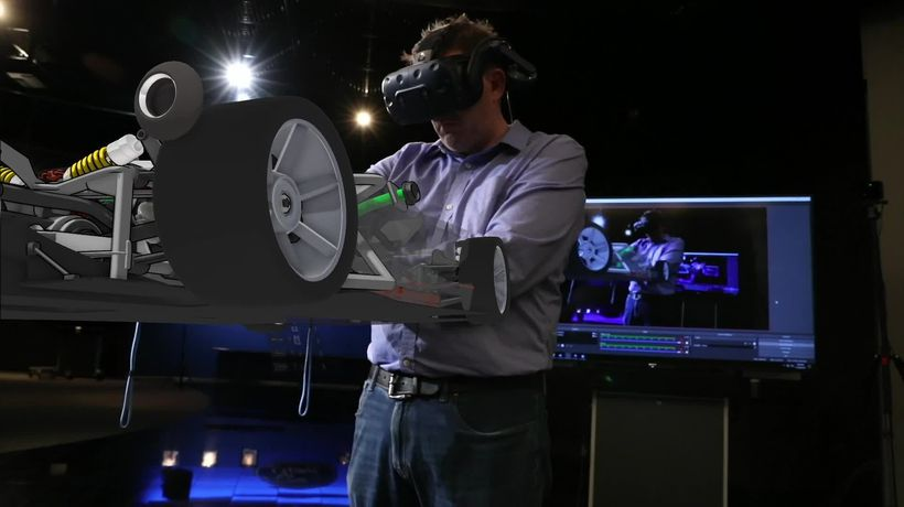 Ford designers use virtual reality to create the ideal car