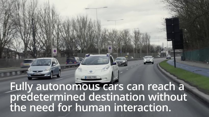 What are driverless cars?