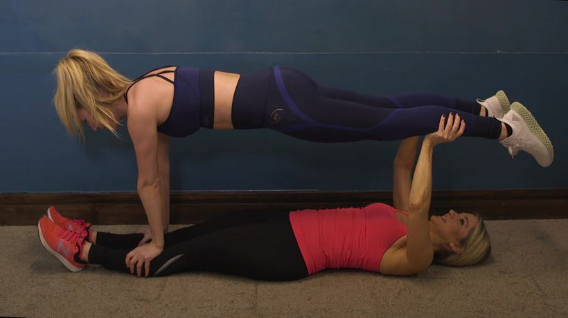 Partner exercises: How to do the ultimate 'buddy workout'