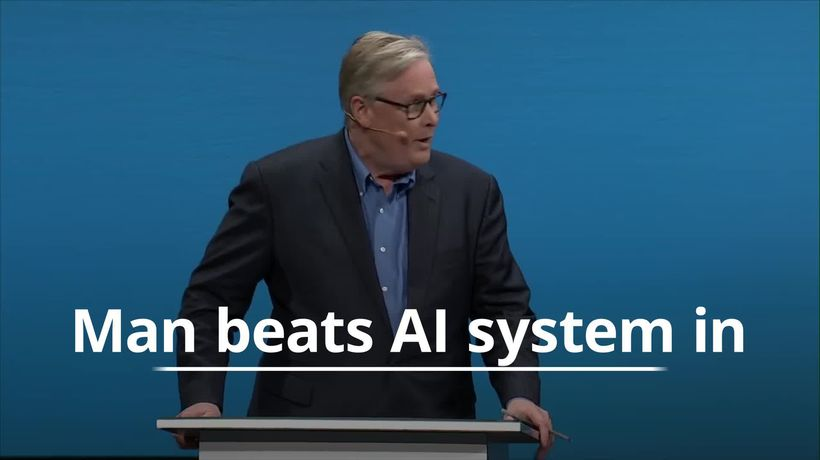 Man beats AI machine in debating competition