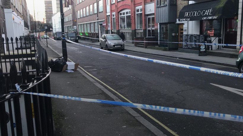 11 arrested on suspicion of murder after stabbing in central London