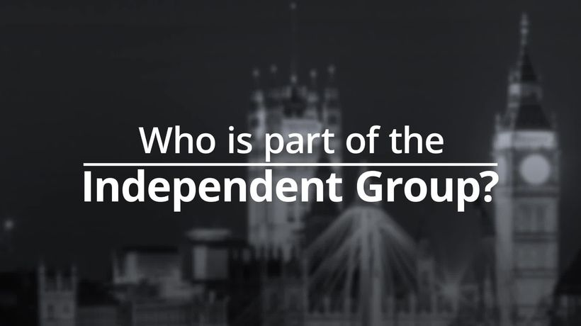 Who is part of the Independent Group?