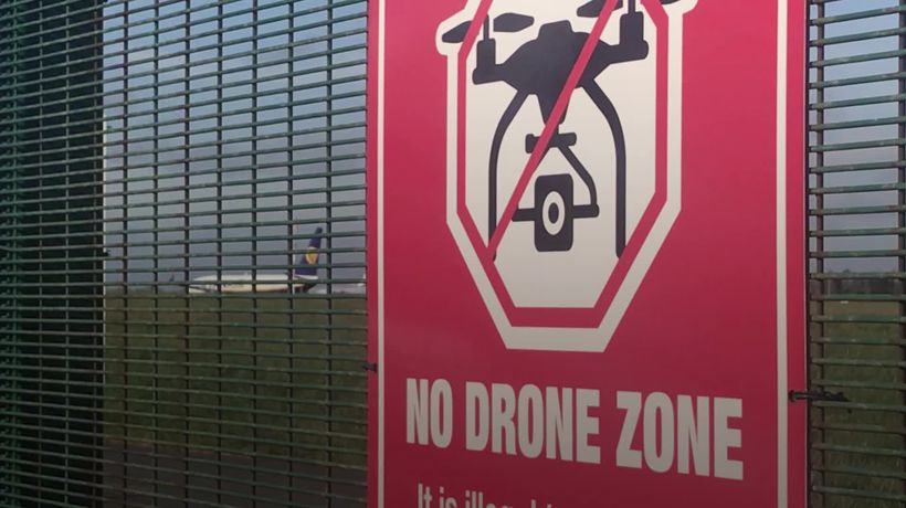 Drone sighting at Dublin Airport temporarily suspends flights