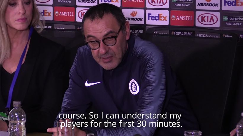 Sarri says Chelsea going through 'difficult moment'