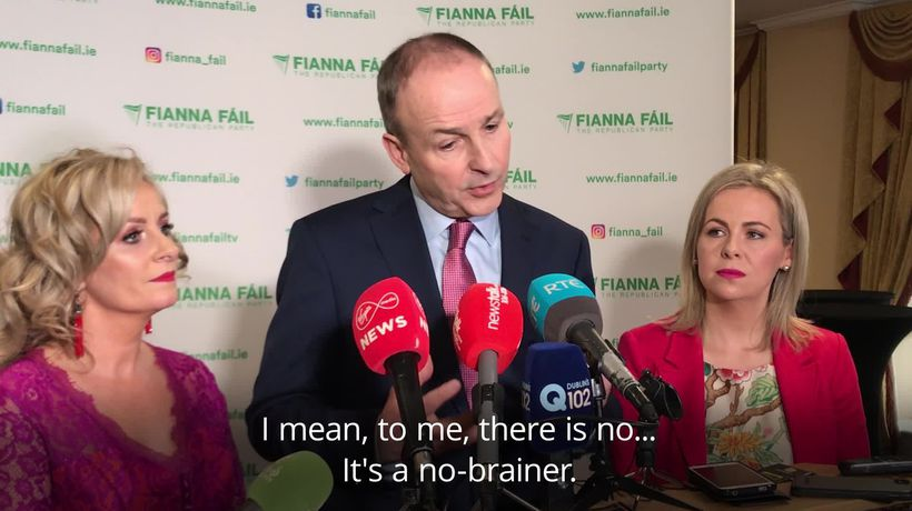 Micheal Martin: Backing government during Brexit negotiations a no-brainer