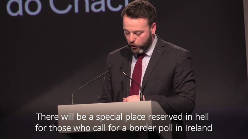 Colum Eastwood: Place in hell for those who call for border poll without a plan