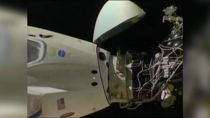SpaceX capsule departs International Space Station