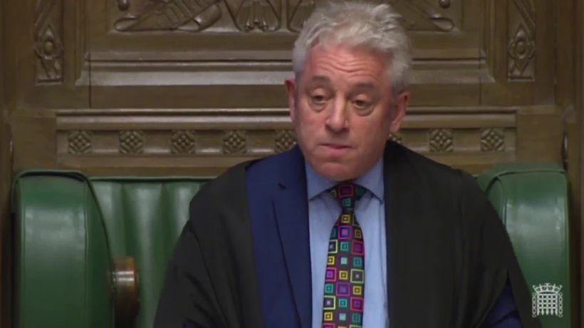 John Bercow: Government cannot hold another Meaningful Vote unless it is substantially different