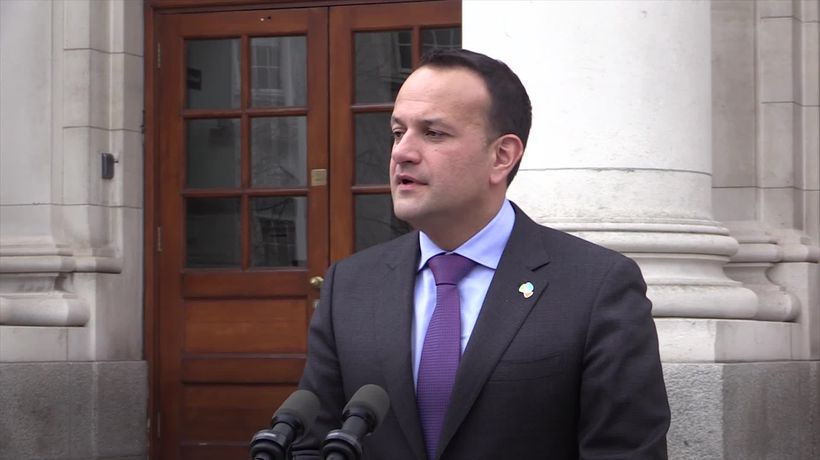 Leo Varadkar: Ireland are 'open' to Brexit extension