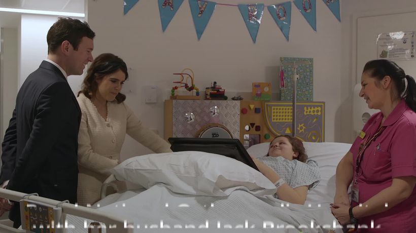 Princess Eugenie reunites with nurse who took care of her in hospital as a child