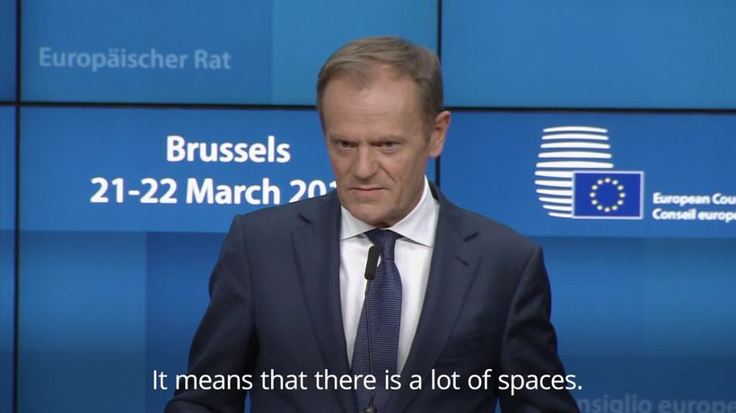 Donald Tusk warns against no-deal Brexit: There is a lot of space in hell
