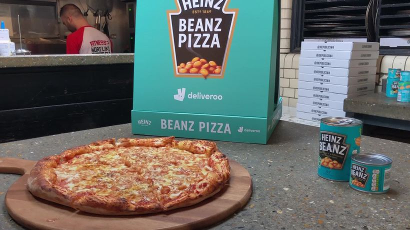 Introducing the Heinz Beanz Pizza: Celebrating 150 years